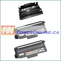 2 Compatible Brother TN750 TN-750 / TN720 TN-720 Toner + 1 Compatible Brother DR720 / DR-720 Drum