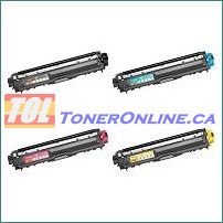 Brother TN221 TN225 Compatible Toner Cartridge 4 Color Set for HL-3170CDW HL-3170CW