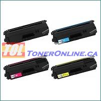 Brother TN336BK-TN336Y High Yield Compatible Toner Cartridge 4 Color Set for HL-L8250CDN, HL-L8350CDW