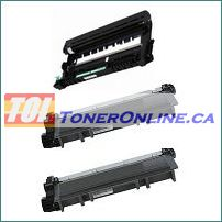 Brother DR630 Compatible Drum Unit 1PK and TN-630/TN-660 Compatible Toner Cartridge 2PK for Brother HL-L2380DW, MFC-L2720DW