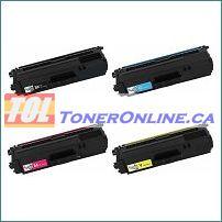 Brother TN331BK-TN331Y Compatible Toner Cartridge 4 Color Set for HL-L8250CDN, HL-L8350CDW