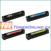 Canon 118 Compatible Toner Cartridge 4 Color Set 2659B002AA-2662B002AA for ImageClass LBP7200Cdn MF8350Cdn