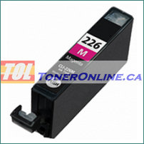 Canon CLI-226 Magenta Compatible Ink Cartridge 4548B001AA (with chip) for PIXMA iP4820 PIXMA MX882