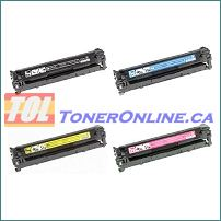 HP Color LaserJet CB540A/541A/542A/543A Laser Toner  4 Color Set (remanufactured)