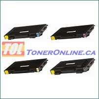 Samsung CLP-510 CLP510 CLP 510 COMPATIBLE Laser Toner Cartridge  4 Color Set