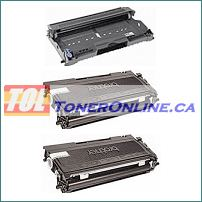 Brother TN350 Compatible Toner 2PK and Brother DR350 Compatible Drum 1PK