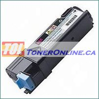 Dell 331-0717 Magenta High Yield  Compatible Toner Cartridge for Color Laser 2150cdn Multi-Function 2155cdn