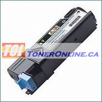 Dell 331-0718 Yellow High Yield Compatible Toner Cartridge for Color Laser 2150cdn Multi-Function 2155cdn
