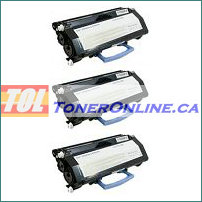 Dell 2330 (330-2650) Black High Yield Compatible Toner Cartridge 3PK for Laser 2330d 2350d