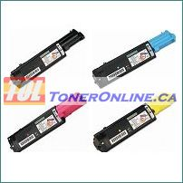 Epson C1100SET Compatible Toner Cartridges for Epson AcuLaser C1100, CX11N, CX11NF