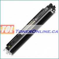 HP CE310A 126A Black Compatible Toner Cartridge for Color LaserJet CP1025nw & 100 MFP M175nw