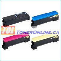 Kyocera-Mita TK-562SET 4 Color Set Compatible Toner Cartridge for FS-C5300, FS-C5350