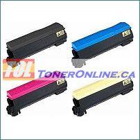 Kyocera-Mita TK-582SET 4 Color Set Compatible Toner Cartridge for FS-C5150DN