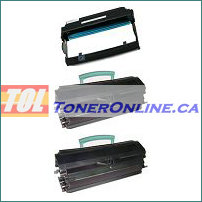 Lexmark E250X22G Compatible Drum Unit (Photoconductor) 1PK and E250 Compatible Toner Cartridge 2PK for E250 E350