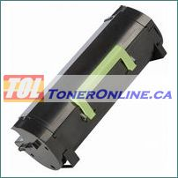 Lexmark MX310 60F1H00 Black High Yield Compatible Toner Cartridge for MX310, MX310DN