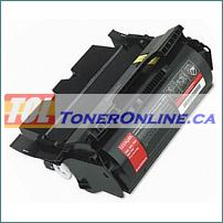 Lexmark 64015HA Optra T640 Laser Toner Cartridge High Yield