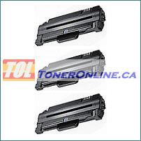 Samsung ML2525 SCX4623F High Yield Compatible Toner Cartridges (MLT-D105S MLT-D105L) 3PK