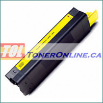 Okidata 42127401 Yellow High Yield Compatible Toner Cartridge for C5100n C5450