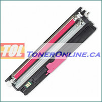 Okidata 44250714 Magenta High Yield Compatible Toner Cartridge for C110 C130N