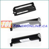 Panasonic KX-FAT92 Black Compatible Toner Cartridge 2PK and Compatible Drum Unit 1PK for KX-MB271 KX-MB781