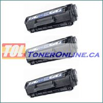 HP Q2612A 12A Compatible Black Toner Cartridges 3PK
