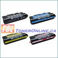 HP LJ 3500 3550 Q2670A Q2671A Q2672A Q2673A COMPATIBLE Toner 4 Color Set