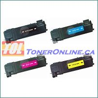 Xerox 106R01279-106R01281 Compatible Toner Cartridge 4 Color Set for Phaser 6130 6130N