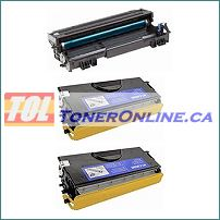 Brother TN550 TN-550 / TN580 TN-580 Compatible Toner 2PK and Brother DR520 Compatible Drum 1PK