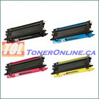 Brother TN210 / TN-210 Toner Cartridge set (4 colors) for HL-3040CN MFC-3070CW