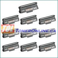 Brother TN750 TN-750 / TN720 TN-720 High Yield Black Compatible Toner Cartridge 10PK for DCP-8110DN, MFC-8510DN
