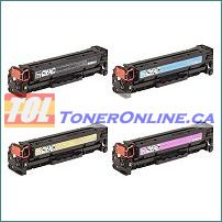 HP  CE410X CE411A- CE413A 305X 305A Compatible Toner Cartridge 4 Color Set for LaserJet M375nw M451dw